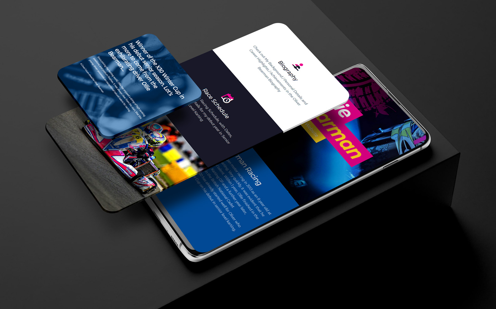 Interactive Mobile Friendly Design with Interactive Features