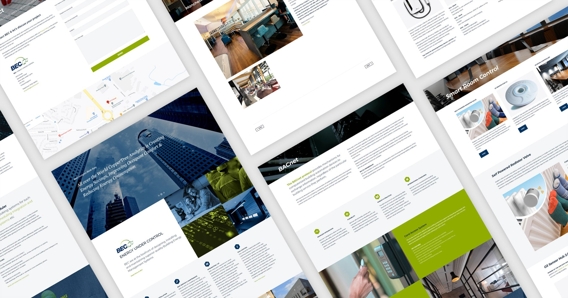 Web Design Project for BEC