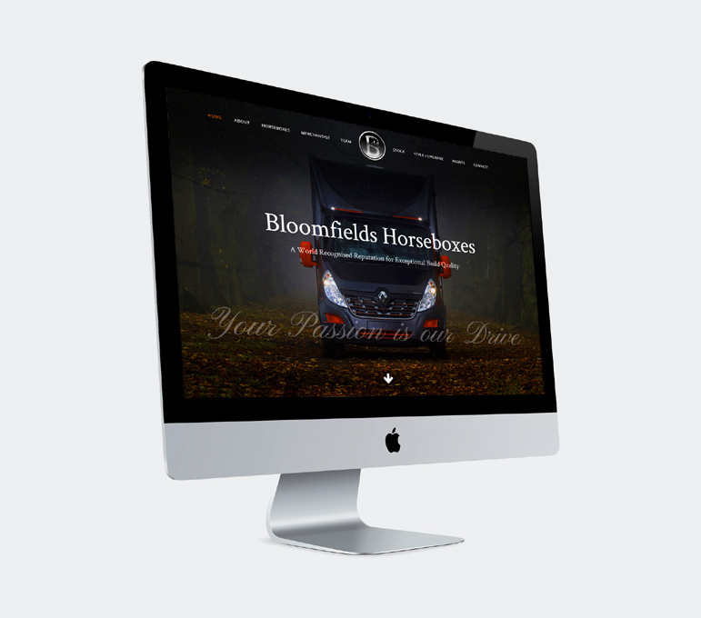 Bloomfield Horseboxes Web Design