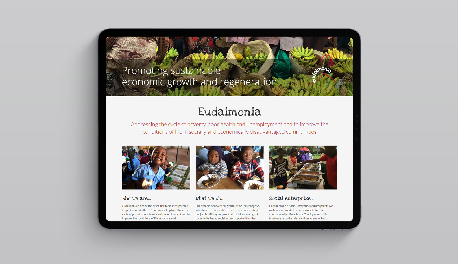 Eudaimonia Website Design