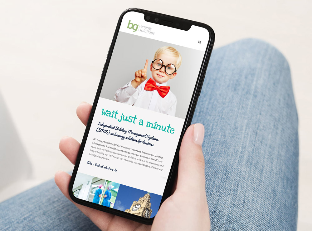 Web Design Project for BG Energy Solutions