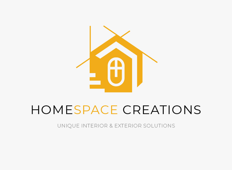 Logo Design for Home Space Creations